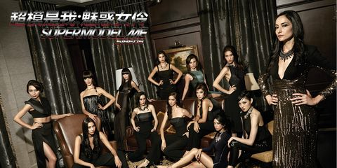 Leg, Fashion, Black hair, Youth, Fashion model, Curtain, Cg artwork, Little black dress, Model, Dance,