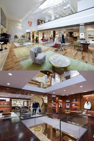 Interior design, Floor, Ceiling, Interior design, Hardwood, Customer, Wood flooring, Lobby, Shelf, Light fixture,