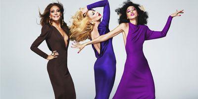Dress, Sleeve, Shoulder, Standing, One-piece garment, Formal wear, Facial expression, Waist, Purple, Violet,