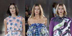Clothing, Leg, Dress, One-piece garment, Formal wear, Pattern, Style, Electric blue, Day dress, Fashion model,