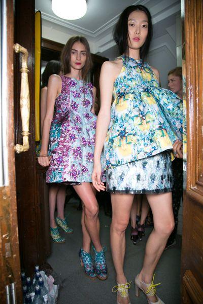 Clothing, Leg, Yellow, Dress, Shoulder, Human leg, One-piece garment, Style, Pattern, Cocktail dress,