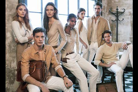 Face, Youth, Khaki, Fashion model, Crew, Khaki pants, Photo shoot, Model, Acting, Belt,