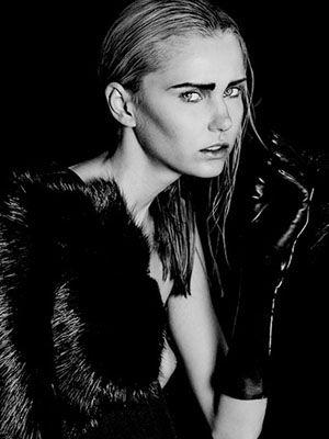 Face, Lip, Hairstyle, Eyebrow, Mammal, Style, Monochrome, Monochrome photography, Black hair, Iris,