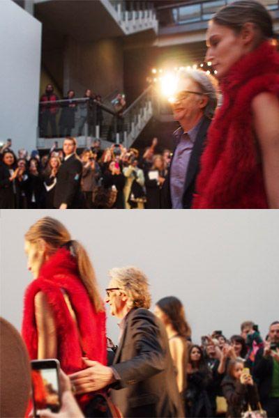 Head, Audience, Fashion, Street fashion, Crowd, Blond, Brown hair, Long hair, Red hair, Hair coloring,