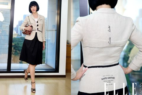 Human body, Sleeve, Shoulder, Joint, Standing, White, Waist, Collar, Style, Bag,