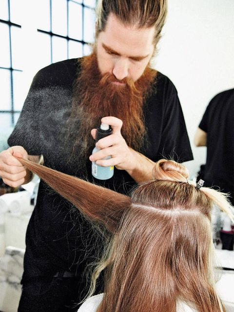 Finger, Hairstyle, Hand, Style, Facial hair, Beard, Long hair, Brown hair, Wrist, Moustache,
