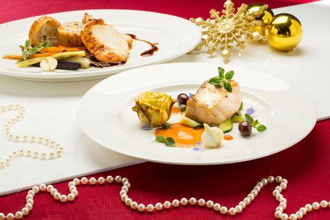 Food, Dishware, Cuisine, Dish, Serveware, Ingredient, Culinary art, Tableware, Garnish, Plate,