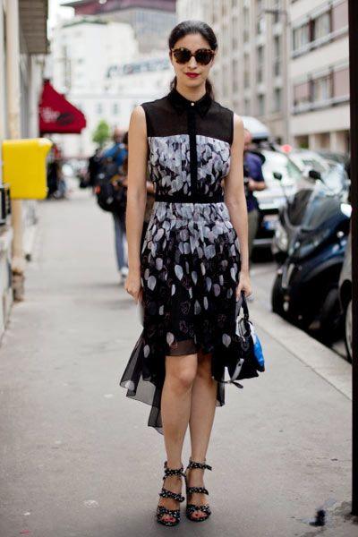 Clothing, Shoulder, Human leg, Joint, Sunglasses, Street fashion, Style, Pattern, Dress, Street,