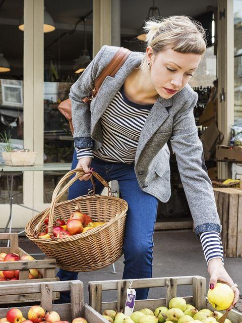 Nose, Local food, Whole food, Food, Basket, Natural foods, Storage basket, Produce, Fruit, Vegan nutrition,