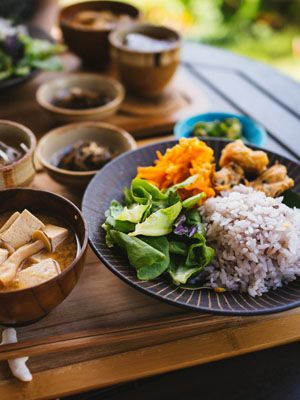 Cuisine, Food, Steamed rice, Dish, Ingredient, Rice, Recipe, Tableware, Meal, Dishware,