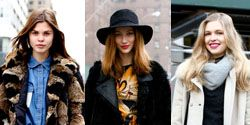Clothing, Footwear, Brown, Sleeve, Winter, Hat, Textile, Photograph, Outerwear, Street fashion,