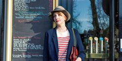 Clothing, Leg, Sleeve, Human leg, Hat, Textile, Photograph, Joint, Style, Street fashion,