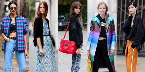 Clothing, Footwear, Leg, Trousers, Bag, Textile, Outerwear, Street fashion, Style, Luggage and bags,