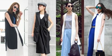 Clothing, Eyewear, Vision care, Shoulder, Bag, Textile, Sunglasses, Outerwear, White, Fashion accessory,