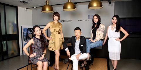 Leg, Dress, Trousers, Coat, Outerwear, Interior design, Light fixture, Fashion, Beauty, One-piece garment,
