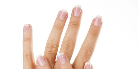 Finger, Skin, Nail, Nail care, Thumb, Beige, Manicure, Close-up, Peach, Flesh,