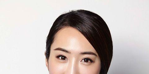 Lip, Hairstyle, Eyebrow, Style, Black hair, Eyelash, Fashion, Beauty, Leather, Fashion model,