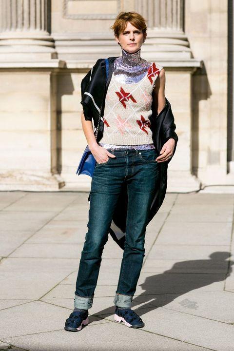 Clothing, Blue, Denim, Trousers, Jeans, Shoulder, Textile, Outerwear, White, Bag,