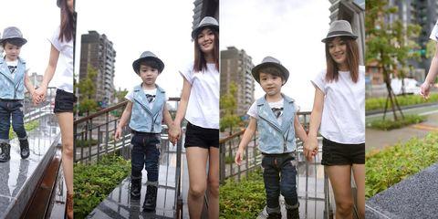 Clothing, Leg, Product, Fun, Denim, Photograph, Hat, Standing, White, Summer,