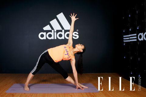 Wrist, Human leg, Flooring, Exercise, Physical fitness, Active pants, Elbow, yoga pant, Knee, Yoga,