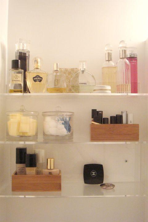 Product, Liquid, Shelving, Peach, Beauty, Bottle, Beige, Collection, Cosmetics, Paint,