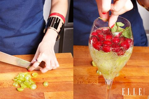 蔓越莓白葡萄氣泡水食譜