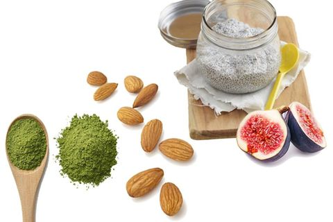 Ingredient, Serveware, Produce, Spice, Powder, Nut, Natural foods, Chemical compound, Seed, Fruit,
