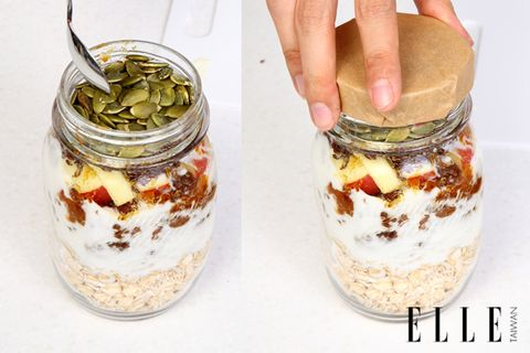 Ingredient, Food, Food storage containers, White, Mason jar, Food storage, Home accessories, Recipe, Preserved food, Canning,