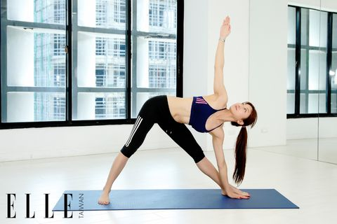 Human leg, Window, Shoulder, Wrist, Exercise, Elbow, Physical fitness, Sportswear, Knee, Active pants,