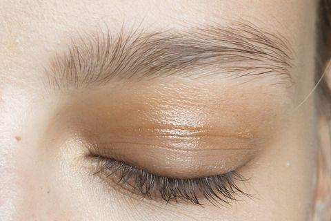 Brown, Skin, Eyelash, Eyebrow, Iris, Beauty, Organ, Eye shadow, Close-up, Tints and shades,