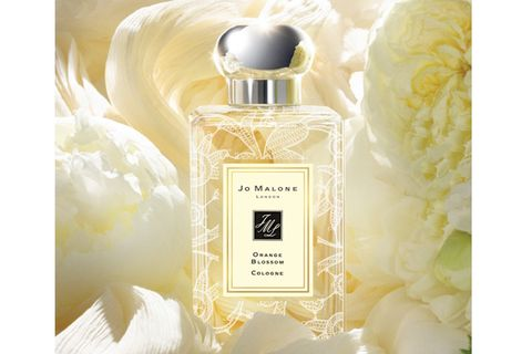 Perfume, Yellow, White, Bottle, Glass bottle, Ivory, Cosmetics, Peach, Silver, Still life photography,