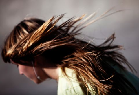 Hairstyle, Style, Beauty, Brown hair, Long hair, Photography, Surfer hair, Blond, Hair coloring, Flash photography,