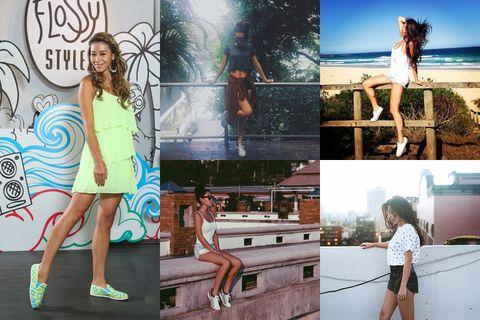 Human, Leg, Human body, Shoulder, Photograph, Human leg, Summer, Beauty, Fashion, Dress,