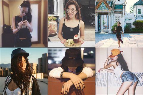 Arm, Hat, Fashion accessory, Collage, Street fashion, Costume accessory, Sun hat, Fedora, Sleeveless shirt,