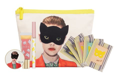 Yellow, Paper product, Costume accessory, Paper, Fictional character, Costume, Masque, Superhero, Mask, Illustration,