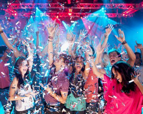 Entertainment, Drum, Party, Celebrating, Music venue, Fan, Cheering, Crowd, Membranophone, Public event,