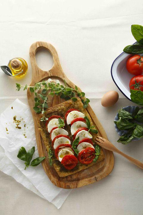 Food, Cuisine, Finger food, Ingredient, Dish, Vegetable, Tomato, Produce, Natural foods, Recipe,