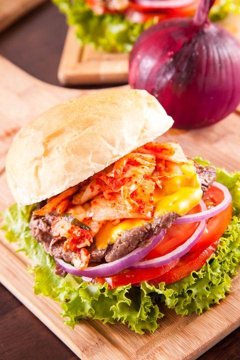 Food, Finger food, Cuisine, Sandwich, Produce, Ingredient, Vegetable, Leaf vegetable, Dish, Tableware,