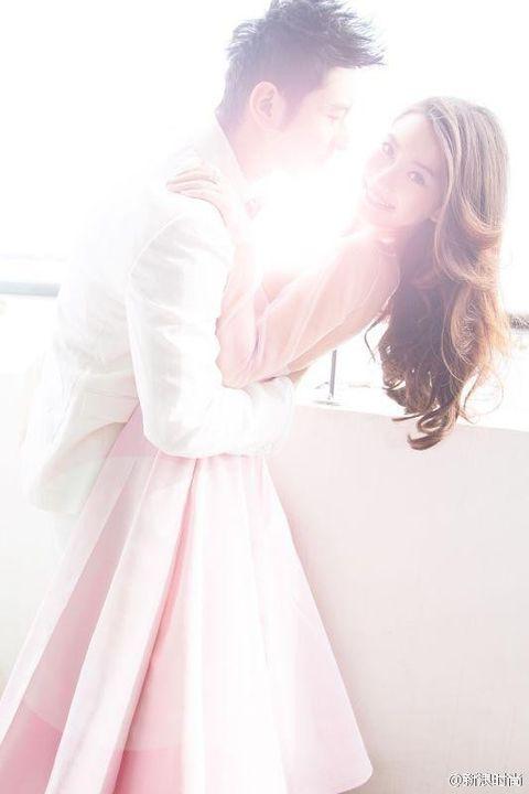 Hair, Photograph, Pink, Dress, Romance, Interaction, Love, Day dress, Honeymoon, One-piece garment,