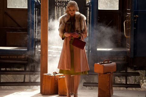Peach, Vintage clothing, One-piece garment, Baggage, Box,
