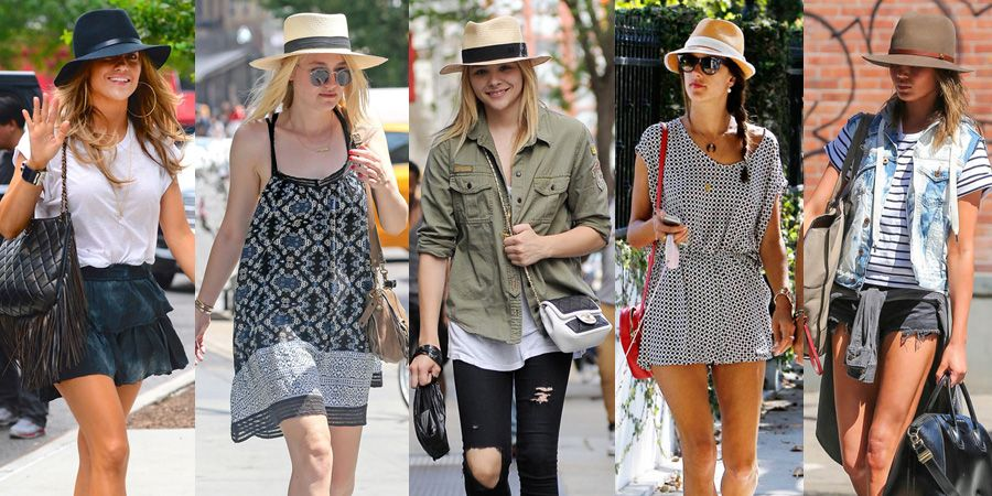 女星夏日必備【陽光寬簷帽】 遮陽同時摩登全身造型的關鍵搭配術