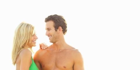 People in nature, Summer, Orange, Barechested, Chest, Interaction, Muscle, Vacation, Holiday, Abdomen,