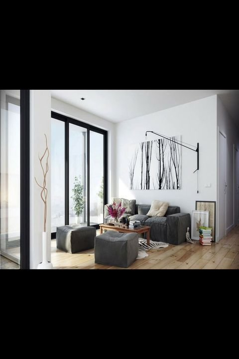 Interior design, Room, Floor, Ceiling, Interior design, Home, Linens, Daylighting, Pillow, Decoration,