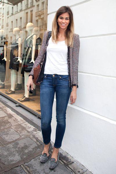 Clothing, Denim, Sleeve, Trousers, Jeans, Textile, Outerwear, White, Style, Street fashion,
