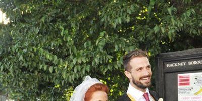 Clothing, Trousers, Dress, Coat, Bridal veil, Bridal clothing, Photograph, Wedding dress, Veil, Outerwear,