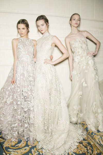 Clothing, Dress, Shoulder, Bridal clothing, Textile, Formal wear, Gown, One-piece garment, Style, Wedding dress,