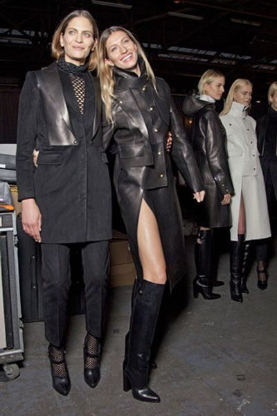 Clothing, Footwear, Leg, Textile, Outerwear, Coat, Style, Leather, Knee-high boot, Fashion,