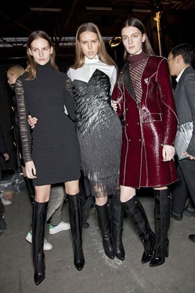 Clothing, Face, Footwear, Textile, Outerwear, Style, Dress, Knee-high boot, Fashion, Boot,