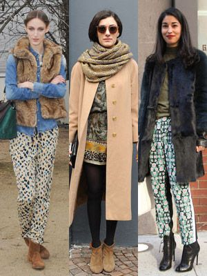 Clothing, Footwear, Brown, Sleeve, Textile, Outerwear, Pattern, Style, Street fashion, Winter,