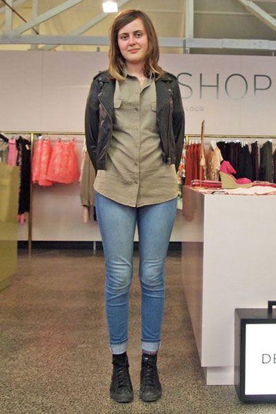 Denim, Textile, Outerwear, Jeans, Jacket, Style, Boot, Street fashion, Fashion, Leather,